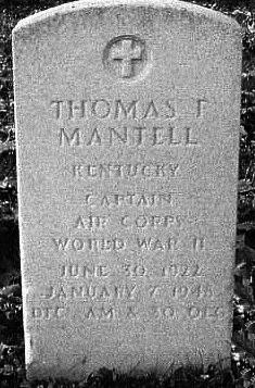 Mantell Headstone
