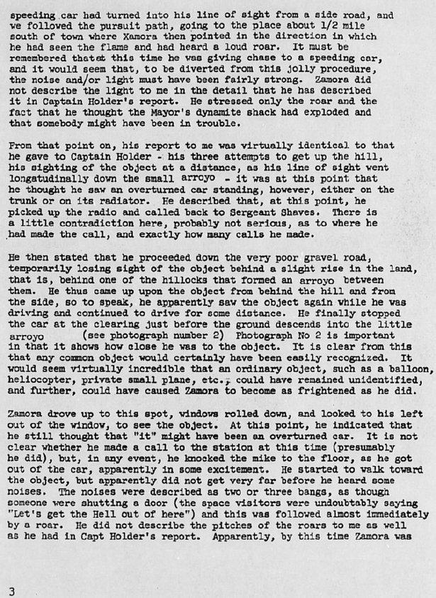 Hynek Report
