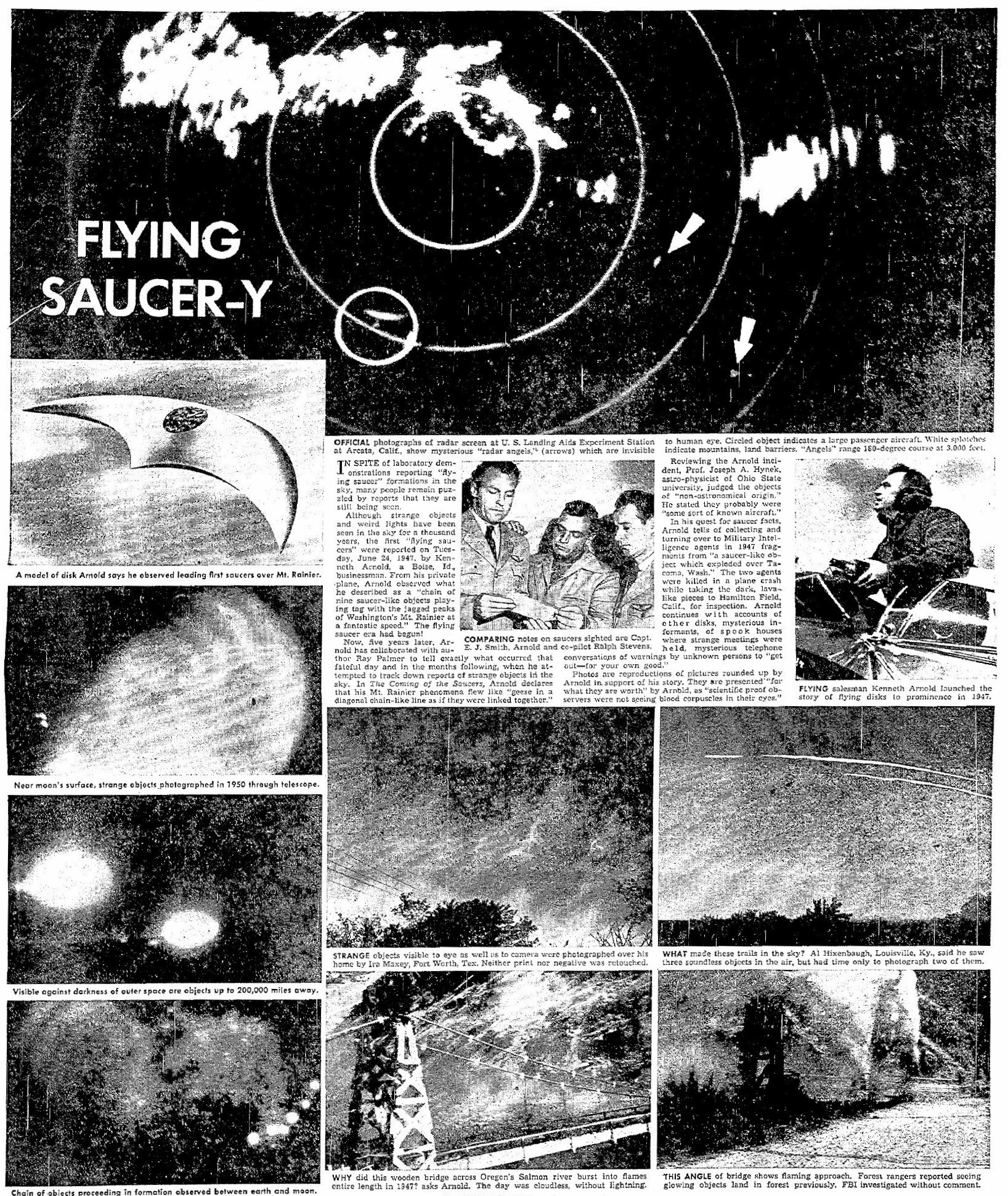 Coming of the Saucers Feature