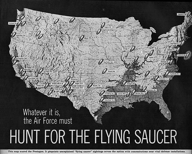 Hunt for the Flying Saucer