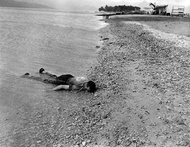 Dead Sailor on Beach, Pearl Harbor