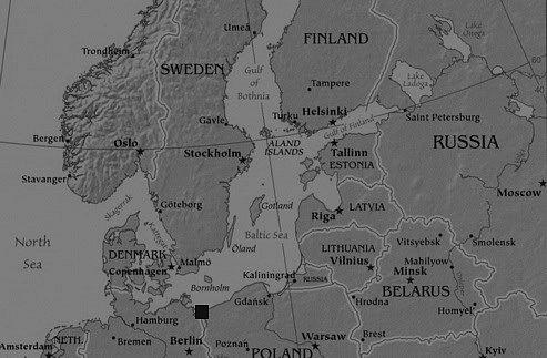 Peenemunde Map