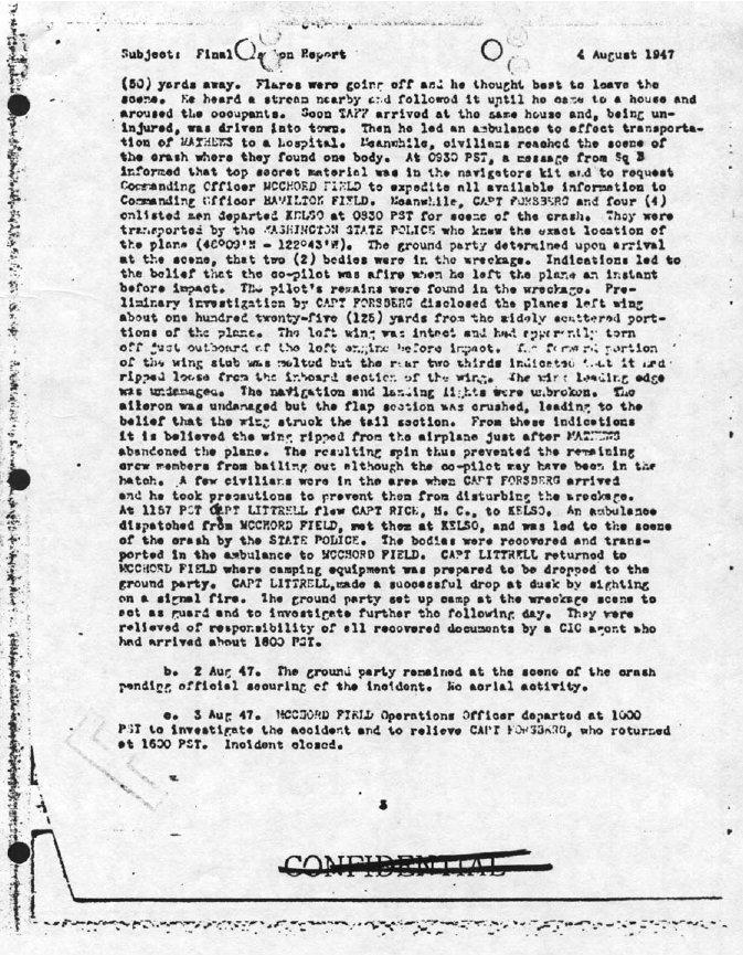 Wilcox Report