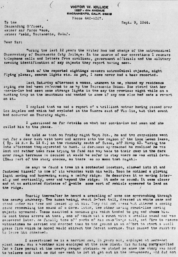 Killick Letter 1