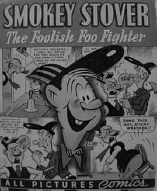 Smokey Stover Comic