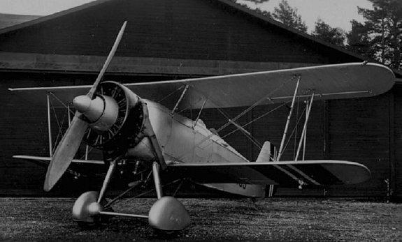 Svenson Aero biplane