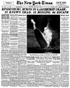 New York Times, May 7, 1937: Hindenburg Burns
