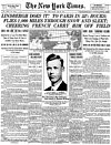 New York Times, May 22, 1927: Lindbergh Does It!