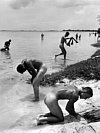 Soldiers Bathing Saipan