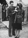 Fort Dix Women Visit