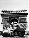 Tank In Paris