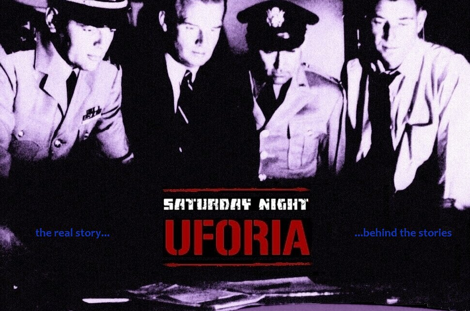 Image: Saturday Night Uforia Logo